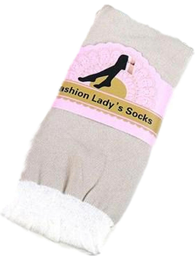 Thigh High Boot Socks, Taupe-BOOT SOCKS-Funteeze-OS-Taupe-Chic Boutique and Gift Emporium