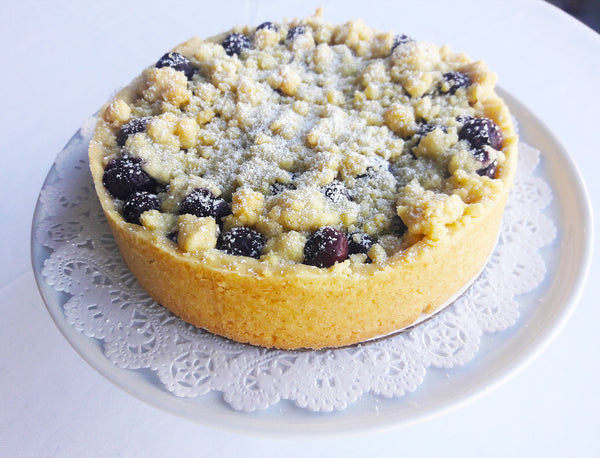Blueberry or Apple Streusel (crumb) Cake