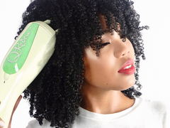 The Q-Redew Hair Steamer //  *To receive a FREE detangling brush please add the brush to your cart and enter code NEWBRUSH at checkout! Valid through 6/17!