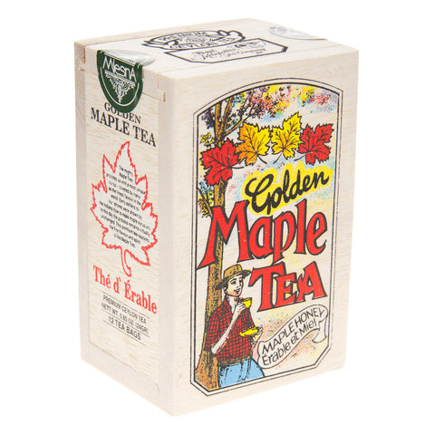 Maple Tea - Golden - Wood Box of 25 bags