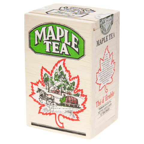 Maple Tea - Premium Ceylon Tea - Wood Box of 25 bags