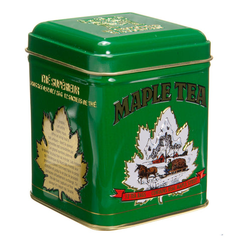 Maple Tea - Green Tin 24 bags