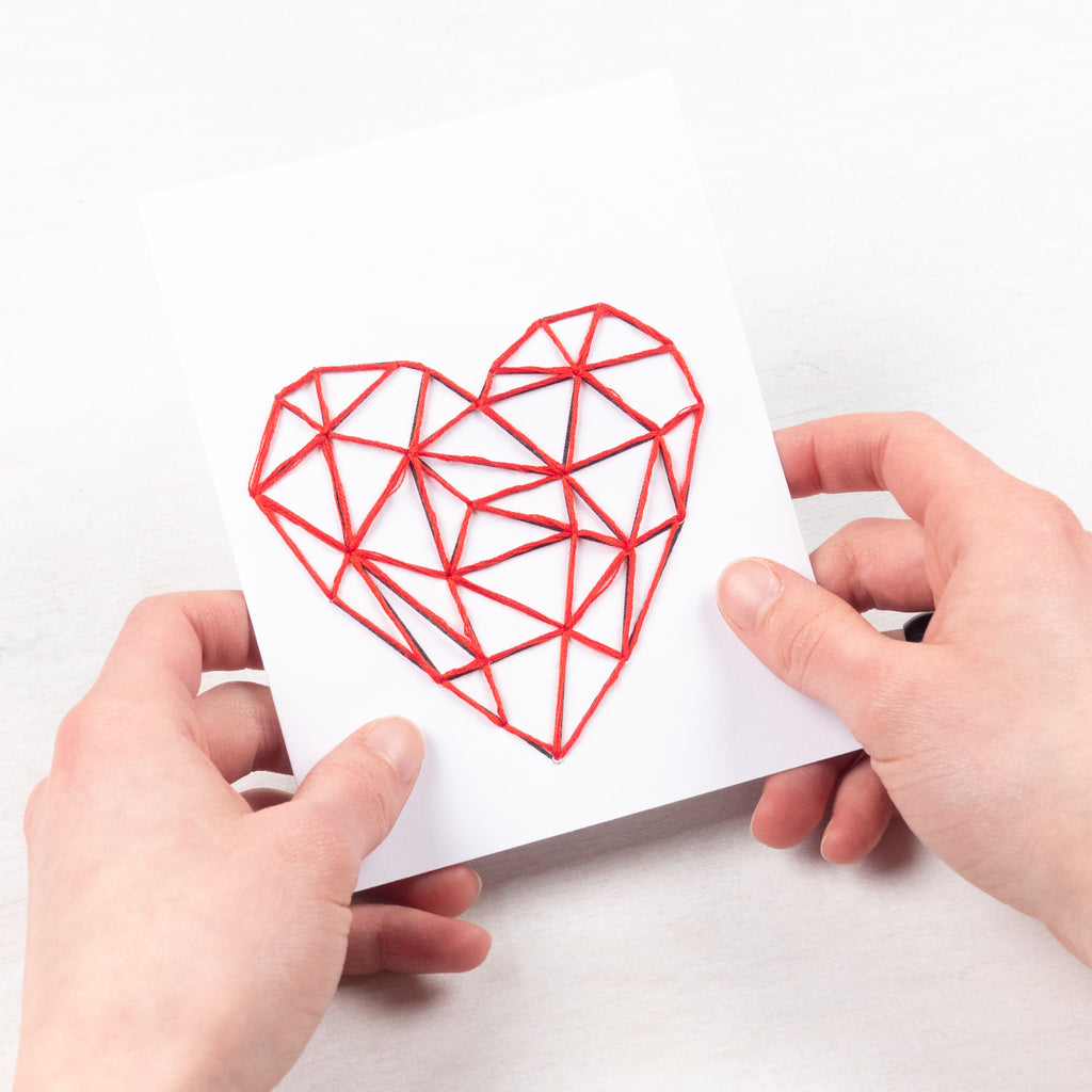 A free Valentine printable you can sew