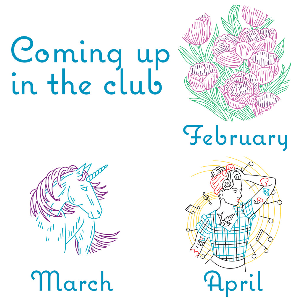 What's coming up in the club for spring 2018?