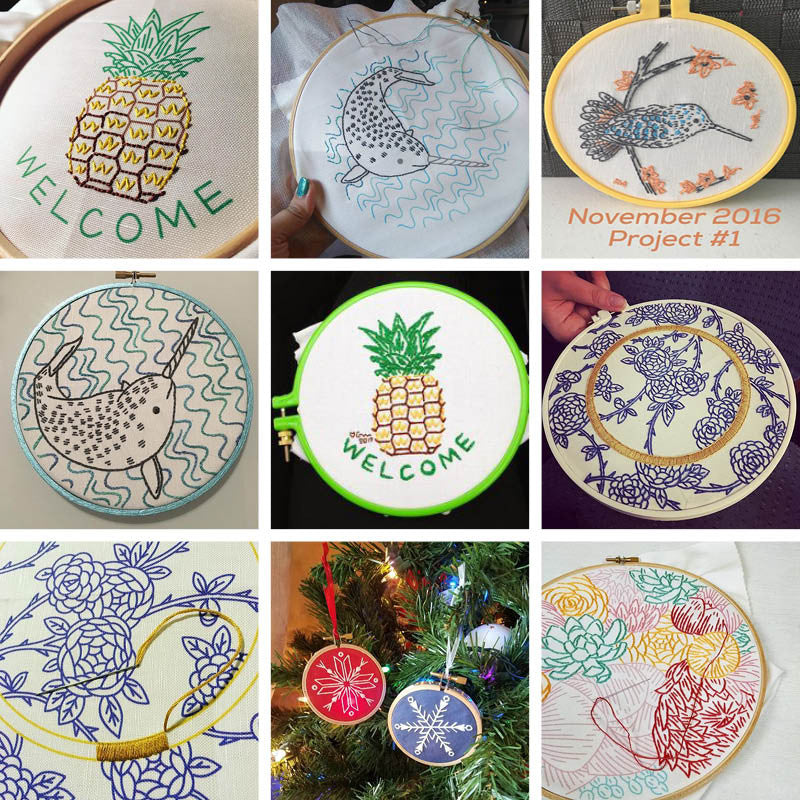 Super Stitchers' Club Round Up - January