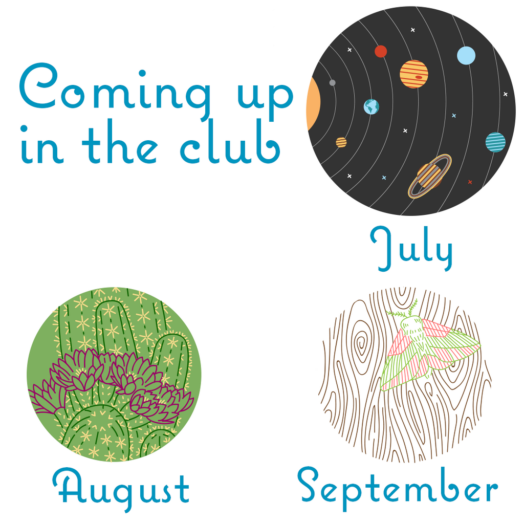 What's Coming to the Club - June 2018