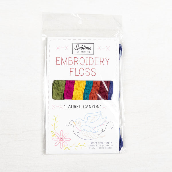 Laurel Canyon - Sublime Stitching Embroidery Floss Palette