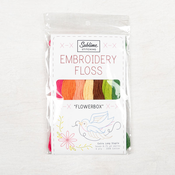 Flower Box - Sublime Stitching Embroidery Floss Palette
