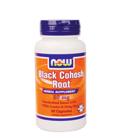 Black Cohosh Root, 80mg, 90 Caps