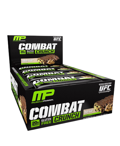 Combat Crunch Bar, Chocolate Chip Cookie Dough (Box)