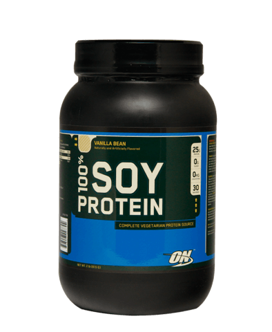 100% Soy Protein, 2 lbs, Strawberry Smoothie