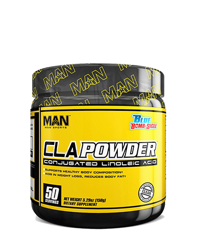 CLA Powder (MAN), 50 servings, Blue Bombsicle