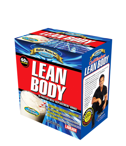 Lean Body Shake, 20 Pack, Strawberry
