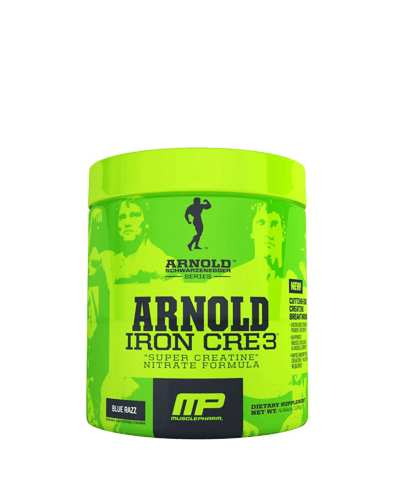 Arnold Iron Cre 3, 30 servings, Fruit Punch