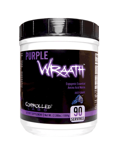 Purple Wraath, 90 Servings, Grape