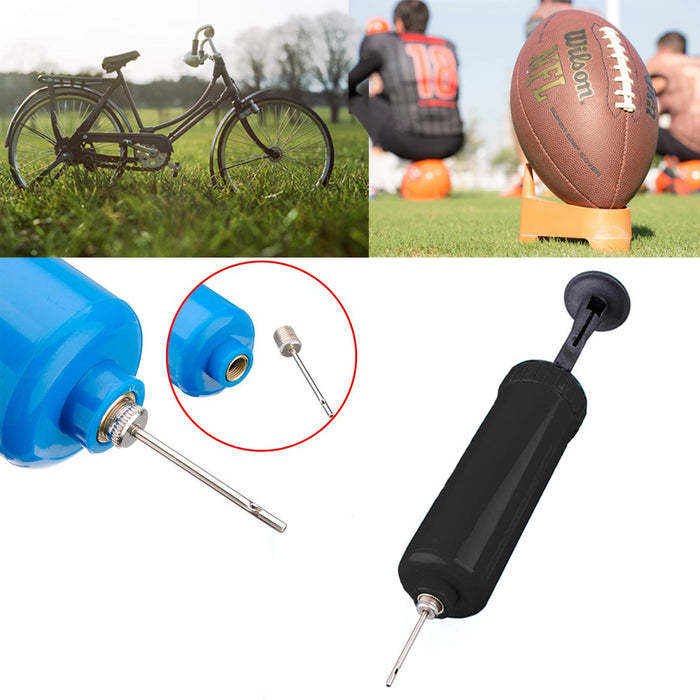 12 Pack Basketball Hand Air Pump with Needle Sports Ball Footbal Soccer Balloons
