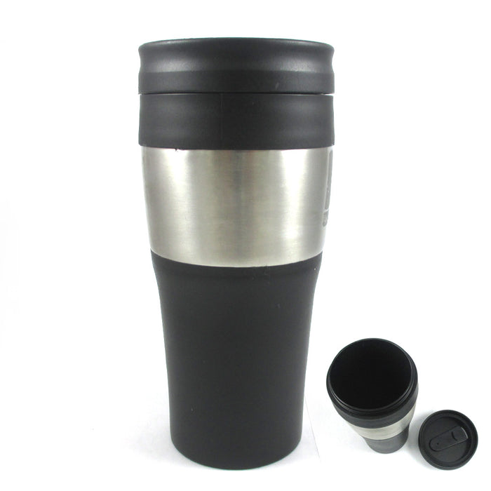 16 Oz Stainless Steel Insulated Double Wall Travel Coffee Tea Mug Cup Thermos !!