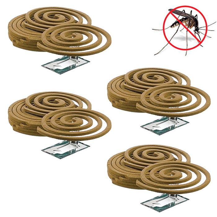 5PK Mosquito Repellent 20 Coils Outdoor Use Lasts 5-7 Hours 10Ft Outdoor Camping