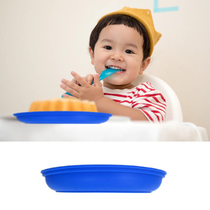 1 Toddler Kids Silicone Placemat Baby Feeding Plate Food Tray BPA Free Table Mat