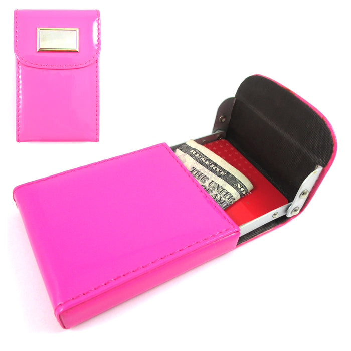 Womens Genuine Thin Wallet Cute Purse Multi ID Business Credit Card Holder Gift