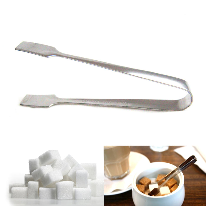 "Sugar Cube Tongs 4"" Stainless Steel Serving Tea Coffee Ice Cookie Serving Tool !"