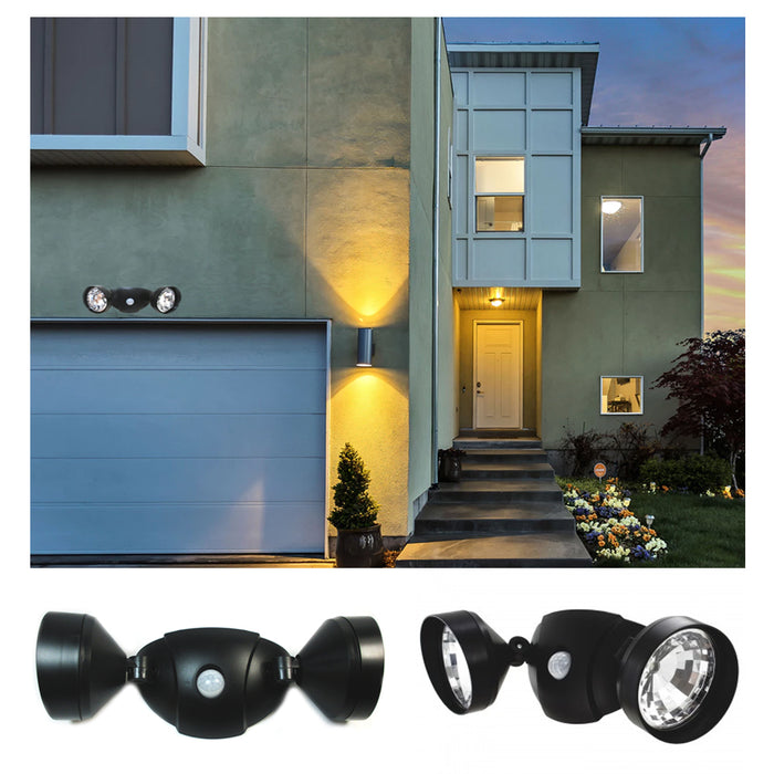 Adjustable LED Lights Motion Activated Sensor Indoor Outdoor Cordless Patio Wall