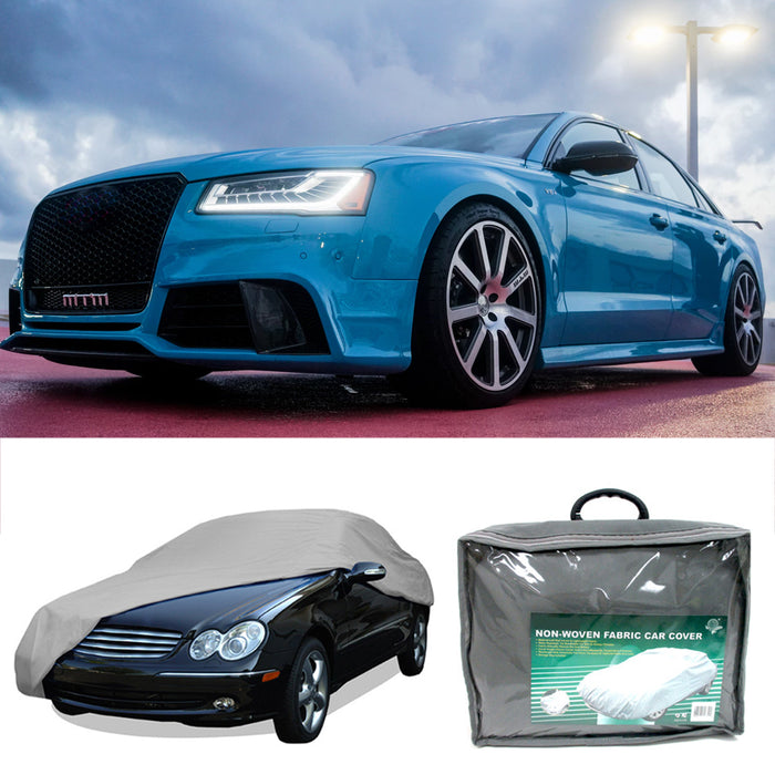 All Weatherproof Universal Fit Car Cover Breathable Waterproof Outdoor Protector