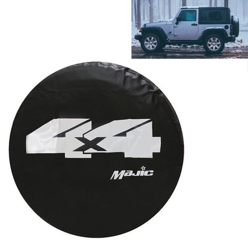 "Spare Tire Cover Fit For Jeep Size 32.5"" Wheel Tire Cover Protector Truck SUV"