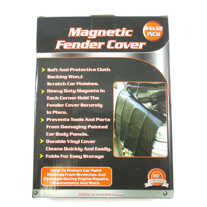 2 Heavy Duty Magnetic Fender Cover 32 x 24 Car Truck Mechanic Work Mat Protector