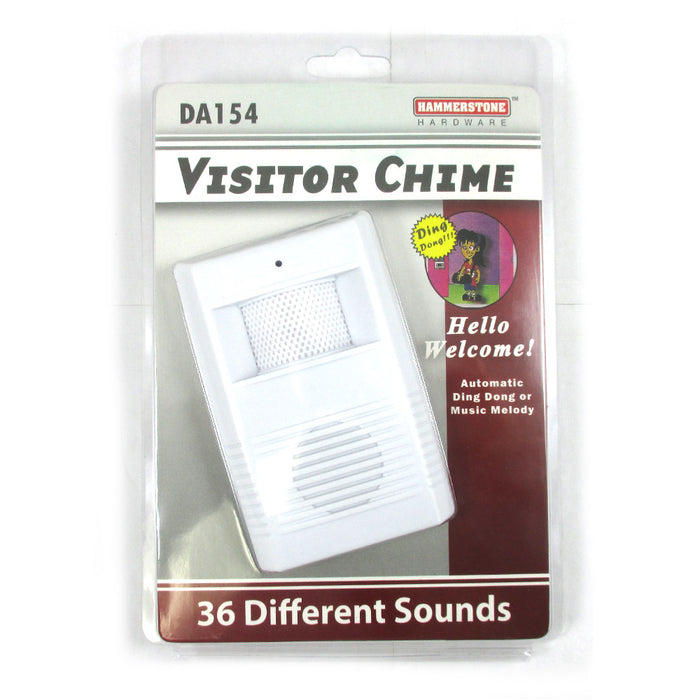 Wireless Visitor Door Bell Chime Motion Sensor Battery Operated Musical Melodies