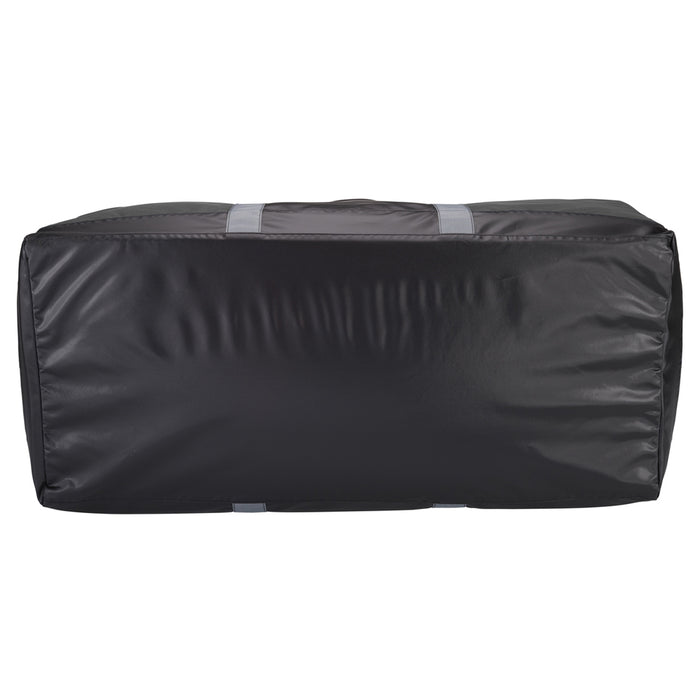 "40"" Black Heavy Duty Polyester Waterproof Jumbo Duffel Bag Luggage Suitcase Safe"