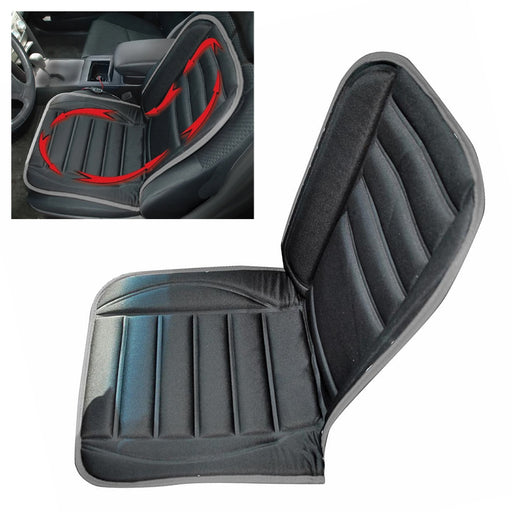 Universal 12V Heated Car Seat Cushion Heating Pad Cover Back Chair Warmer Winter