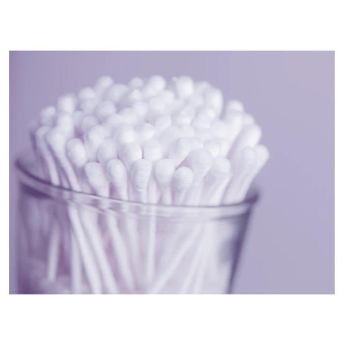 1100 Ct Cotton Swabs Double Tipped Applicator Q Tip Clean Ear Wax Makeup Remover