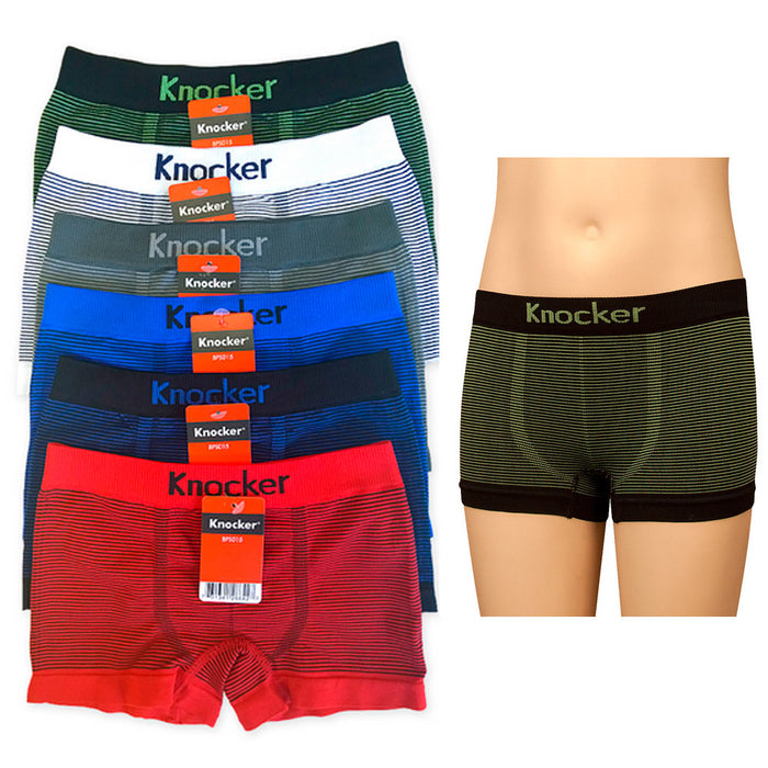 1 Knocker Boys Boxer Seamless Briefs Spandex Kids Size Medium PN: BPS015 KITSV