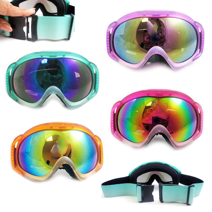 1 Pair Ski Snowboard Snow Goggles Lens 100% UV Protection Anti-Fog Winter Sports