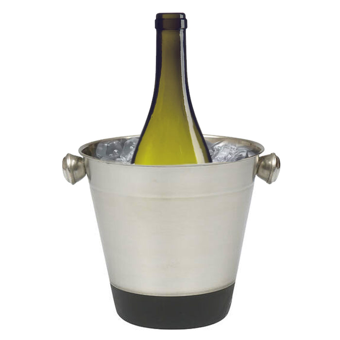 Stainless Steel Ice Bucket 40 oz Mini Cooler Drink Champagne Wine Bar Restaurant
