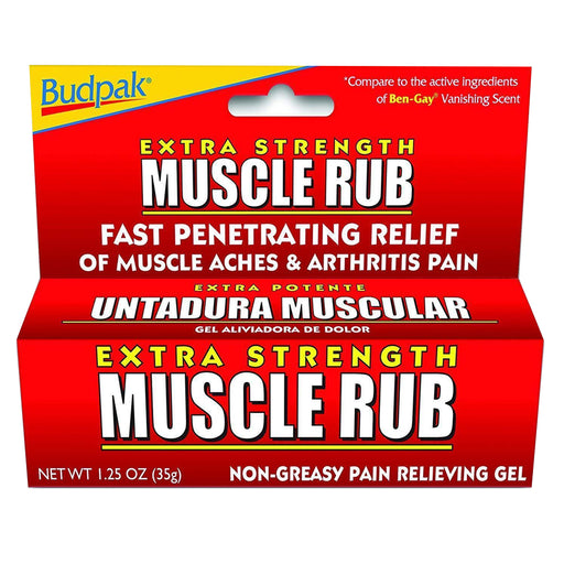 1 Muscle Rub Gel 1.25 oz (35g) Arthritis Fast Acting Cooling Pain Reliever Cream