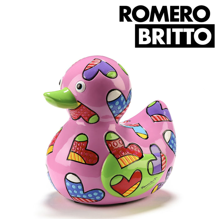 Romero Britto Limited Edition Duck Collectible Figurine Novelty Design Gift Box