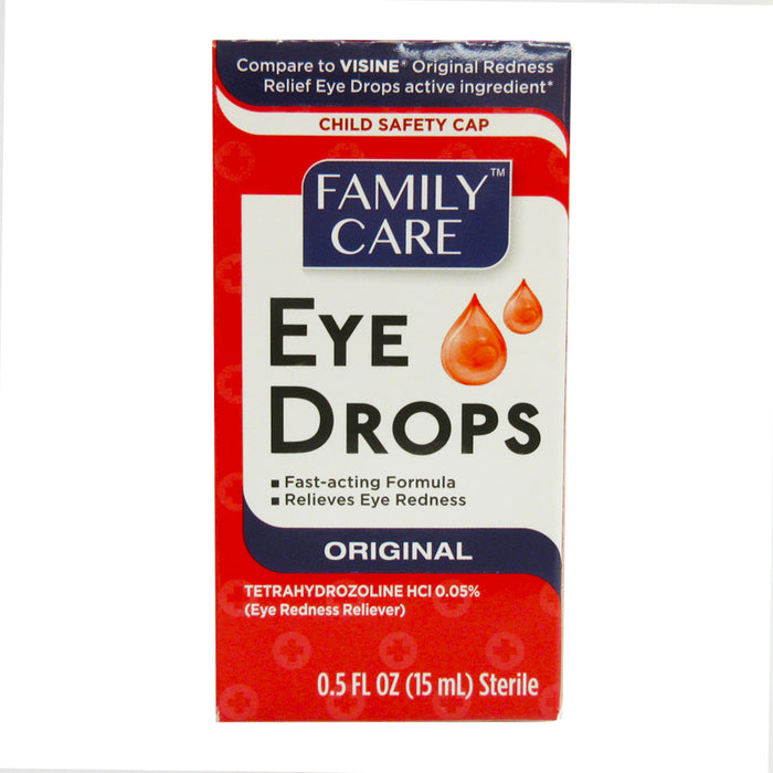Eye Drops Relief Lubricant Itchy Redness Soothe Irritated Refresh Therapy 0.5oz