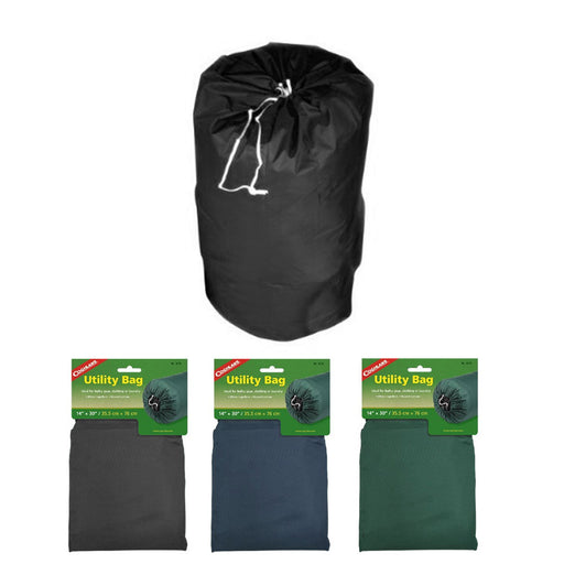 "Coghlans 14"" x 30"" Utility Bag Sleeping Bag Laundry Storage Sack Camping Gear"
