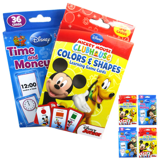 144 Flash Cards Colors Shapes Time Count Money Early Learning Child Education