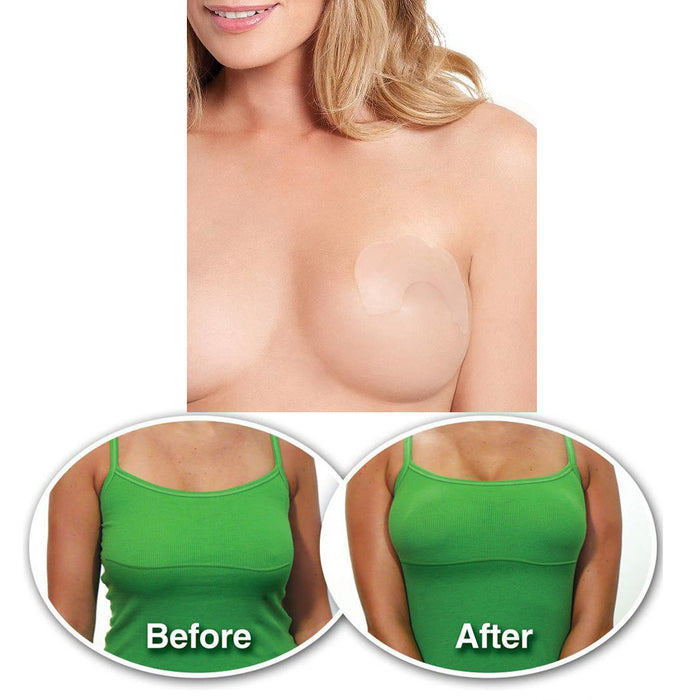 20 Instant Breast Lift Bra Invisible Tape Push Up Boob Uplift Shape Enhancers !