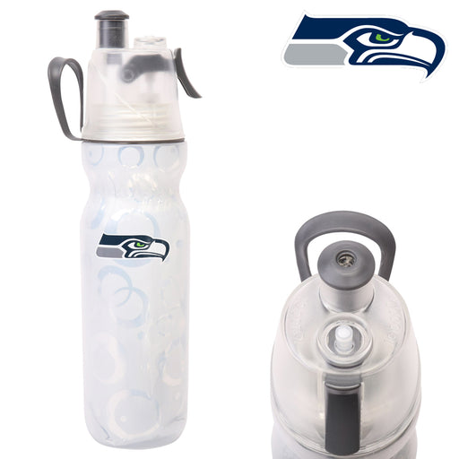 Mist 'N Sip NFL Seattle Seahawks Bottle 20oz Drink Water Sports Squeeze BPA Free
