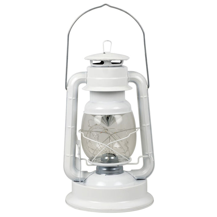 "12"" Hurricane Lantern 18-LED Lights Dimmer Switch Emergency White Lamp Camp Home"
