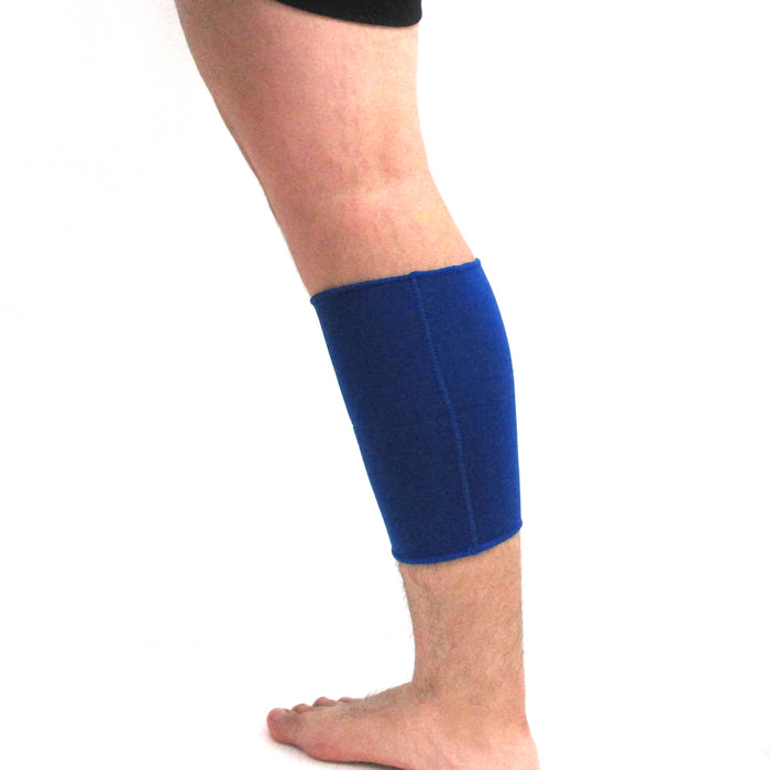 Neoprene Brace Calf Support Wrap Sleeve Running Bandage Leg Compression Sz Small