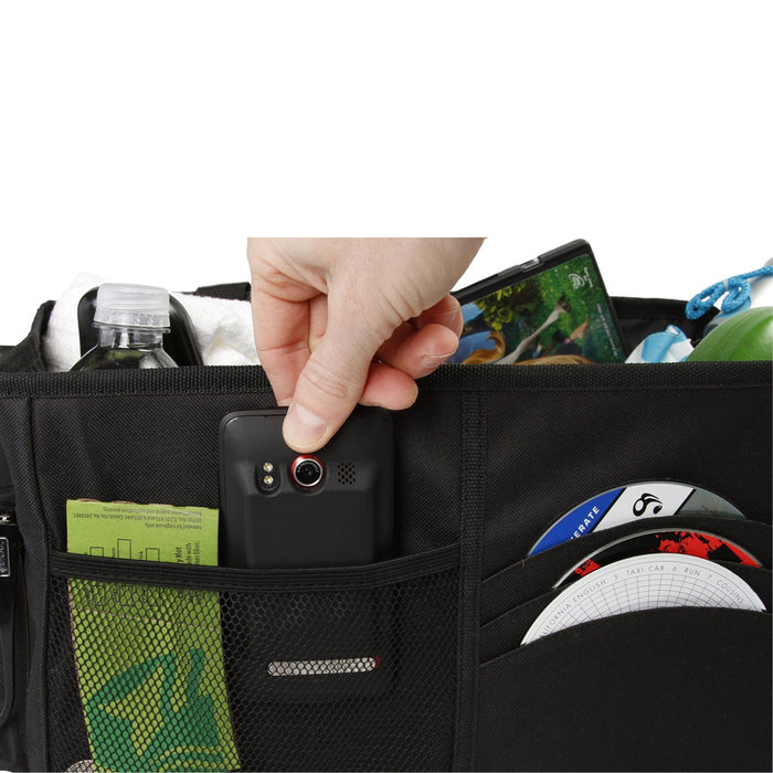 Multipurpose Car Console Center Organizer Trunk Tidy Storage Folding Bag Auto !