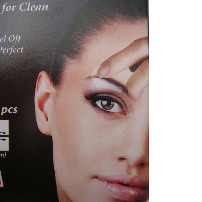 40 Eyebrow Shaping Strips Mini Wax Hair Removal Shapers Face Waxing