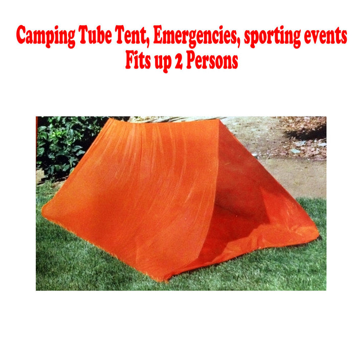 2 Persons Tube Tent Emergency Survival Hiking C&ing Shelter Outdoor Portable !  sc 1 st  AllTopBargains & 2 Persons Tube Tent Emergency Survival Hiking Camping Shelter ...