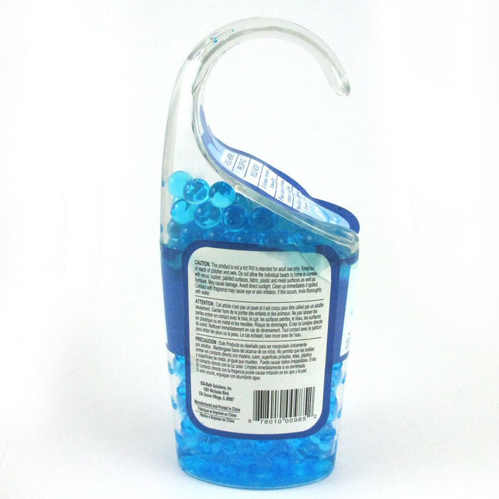 1 Gel Crystals Beads Hanging  Instant Air Freshener Odor Eliminator Summer Linen