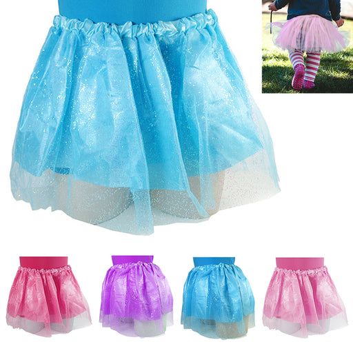 Girls Classic Layers Tulle Tutu Skirt Birthday Princess Party Favor Kids Costume